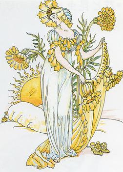W.クレイン「シェイクスピアの庭からの花たち」.jpg